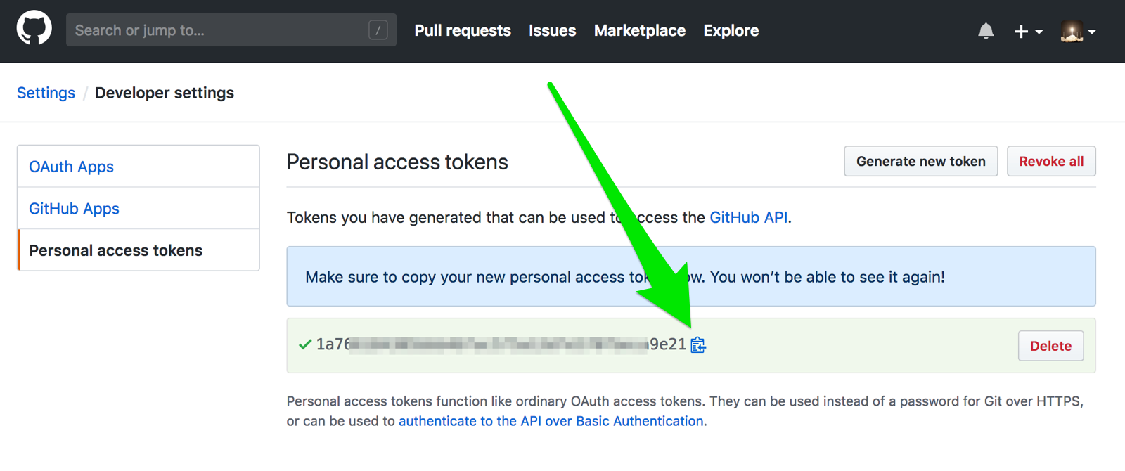 GitHub Access Token :: Amazon EKS Workshop