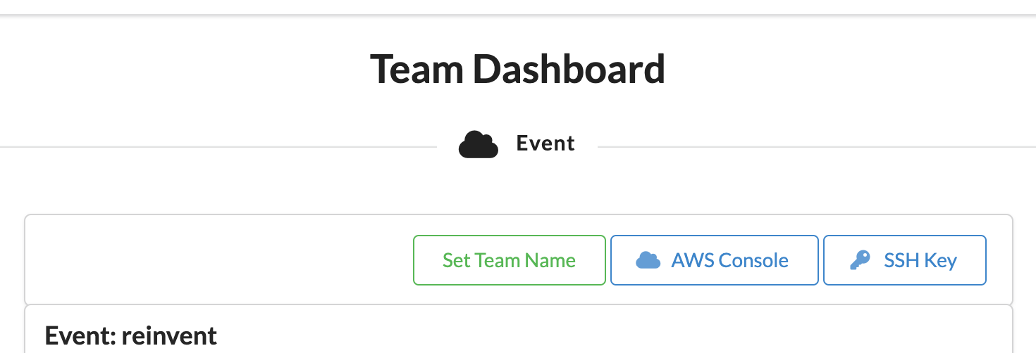 Event Engine Dashboard